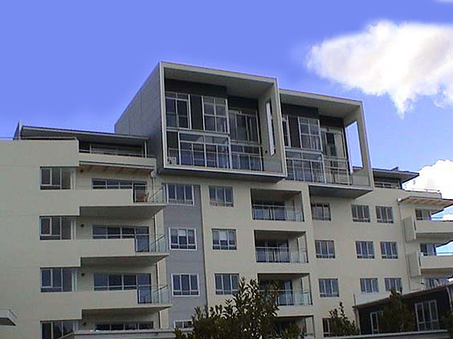 <h1>Waterside, Belconnen</h1>The Waterside Development consists of 60 residential units and four commercial units across from Lake Ginninderra.